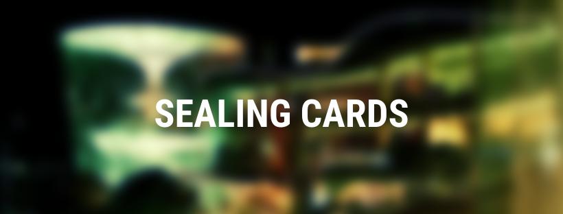 sealing cards