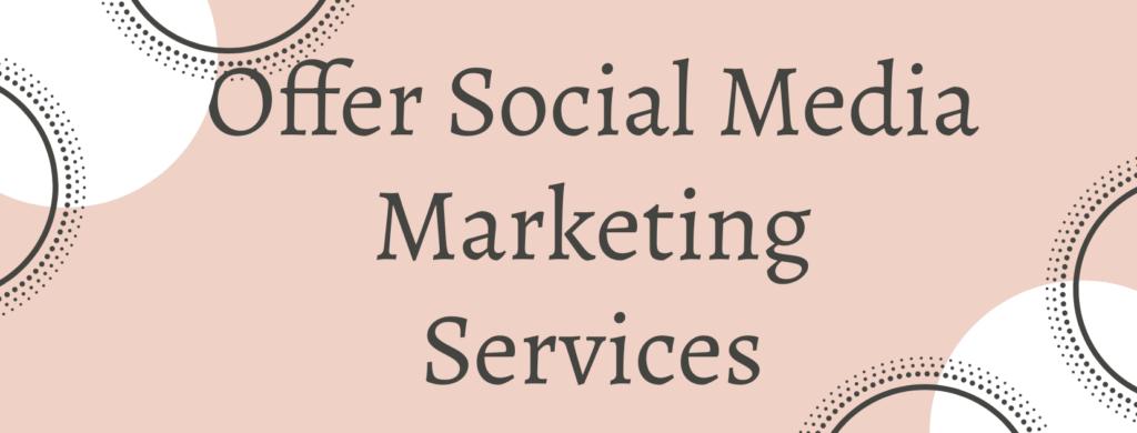 offer social media